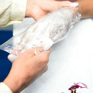 Manicure y Pedicure,Baño de parafina hasta los codos y rodillas (Combo D)
