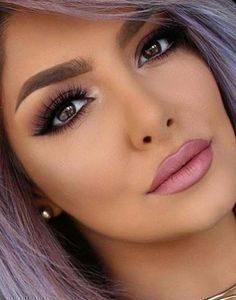 Maquillaje con Pestañas corridas